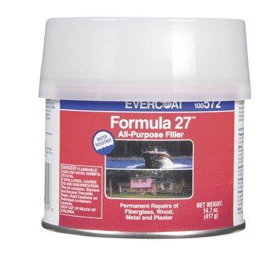 Fibre Glass Evercoat 100572 Formula 27 - 1/2 Pint Can