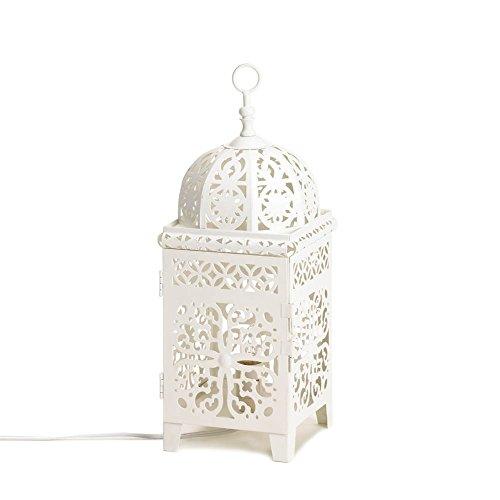 white-scrollwork-lamp