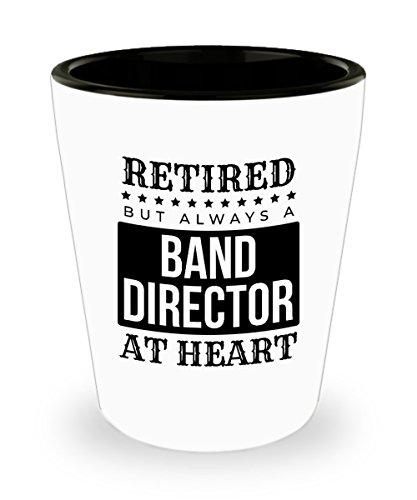 Retired Band - Vaso de chupito para director