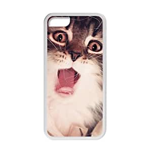 Cute Cat Stick Out Tongue Phone Case for Iphone 5c