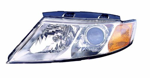 Kia Optima/MGNTS(NEW STYLE) 09-10 Headlight Assembly Chrome Driver Side
