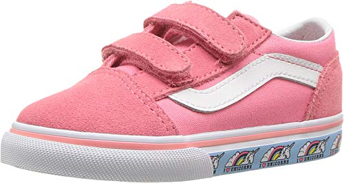 Vans Kids Unisex Old Skool V Toddler Sneakers (10 Toddlers) ()