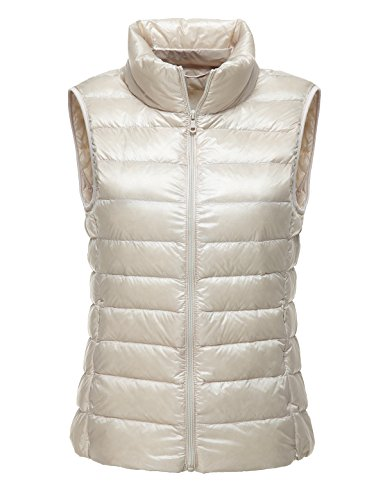 Down Packable Pouch Women's CHICK with Vest Carry Ultralight Ivory CHERRY fBRIcwq6