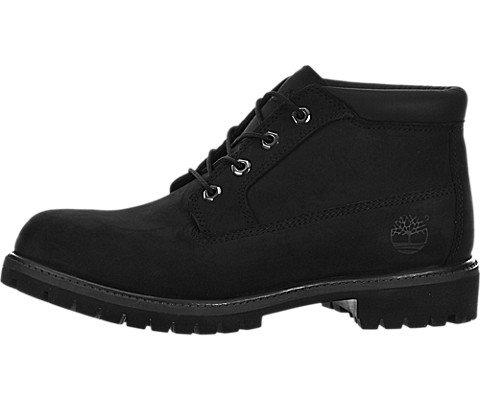 Timberland Mens Premium Waterproof Chukka Boots Black Nubuck 11 M
