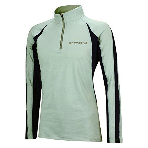 T Gris Homme Airtracks Respirant Manches shirt Ou Pro Fonctionnel Hiver Longues À Réflecteurs Thermique Polaire Femme Running dqaAnq