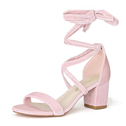 femme K lacets Allegra Chaussures Rose à SpzCIxq