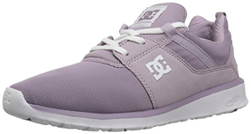 DC Women's Heathrow W Skate Shoe, Purple Rain, 10 B B (Purple Dc Shoes)
