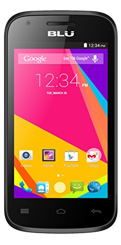 amazon com blu dash jr 4 0 k smartphone unlocked black cell
