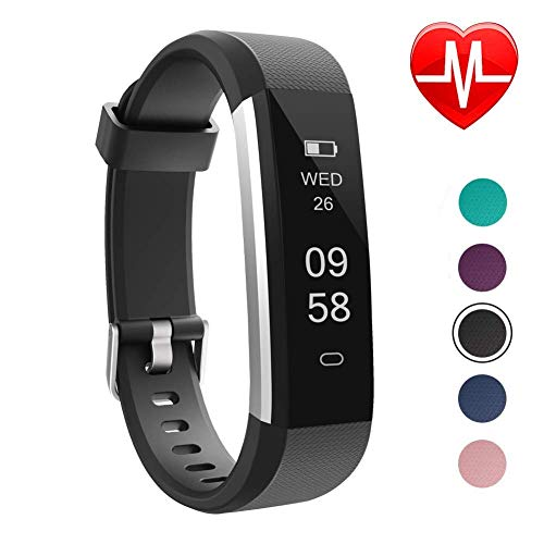 Watch Calorie Monitor - LETSCOM Fitness Tracker, Slim Activity Tracker, Smart Pedometer Watch, Sleep Monitor, Step Counter, Calorie Counter, Waterproof Fitness Watch for Android Phones, Kids Women Men