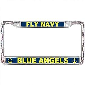 Amazon Com Kingchoo Fly Navy Blue Angels Shiny License