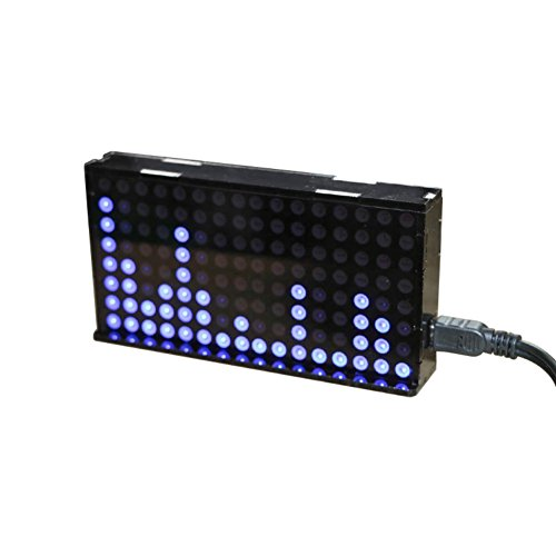 Aoshike LED Music Spectrum Display Dot Matrix VU Meter