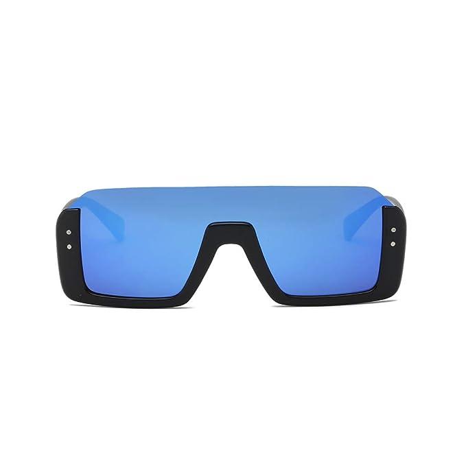 Mymyguoe Gafas de Sol cuadradas Gafas de Sol Vintage para Hombre Retro Gafas de protección de la radiación de la Moda Gafas de Sol polarizadas Lentes ...