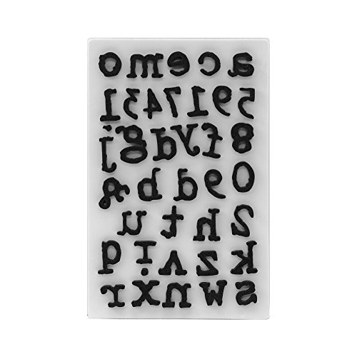 Alphabet Junction - Tim Holtz Idea-Ology Type Lower TH Ideaology Stamp Cling Foam