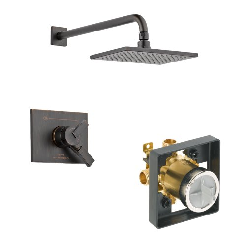 - Delta Delta KSDVE-T17253-RB Vero Shower Kit Pressure-Balance Dual-Function Cartridge, Venetian Bronze Venetian Bronze