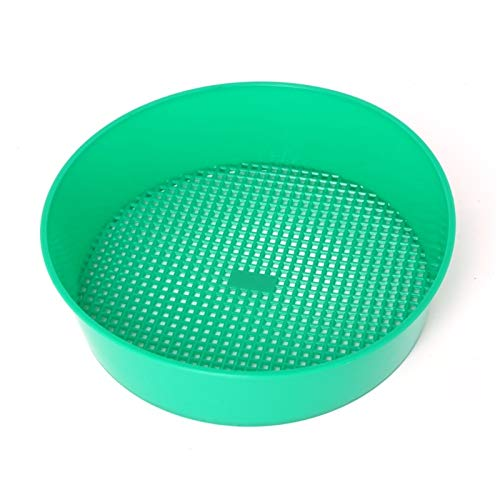DHmart Sieve Knit Ancient Culture Gardening Tool Flower Nursery Plant Prop Sieve Knit Plastic Knitted Plastic Garden Tools ()