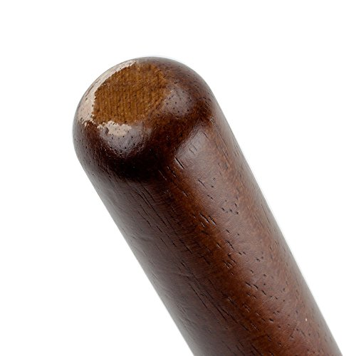 (Set of 12) Wooden Muddler Bar Tool by Tezzorio, 8-Inch Hardwood Mojito Muddler with Flat Head, Commercial Grade Cocktail Drink Muddlers & Bar Accessories by Tezzorio Bar Supplies (Image #2)