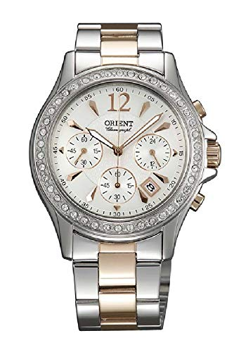 Orient Classic Watch FTW00003W0 - Stainless Steel Ladies Quartz Chronograph