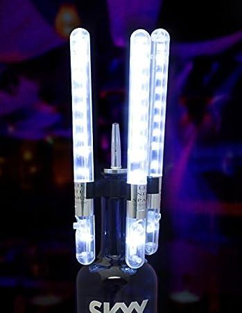 LED STROBE BATON VIP Bottle Service LED Topper LED Sparkler Bottle Sparklers 2PK