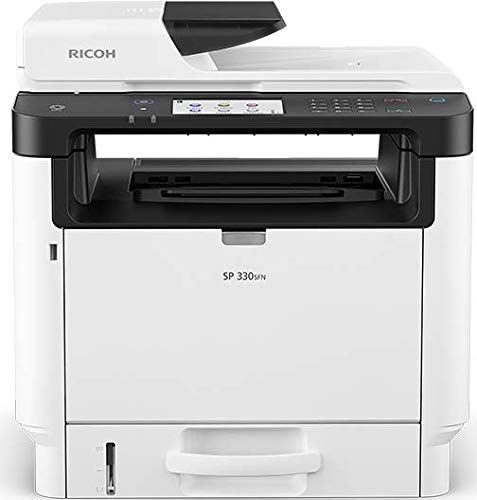 Ricoh 408262 SP 330SFN Monochrome Laser Multifunction Printer