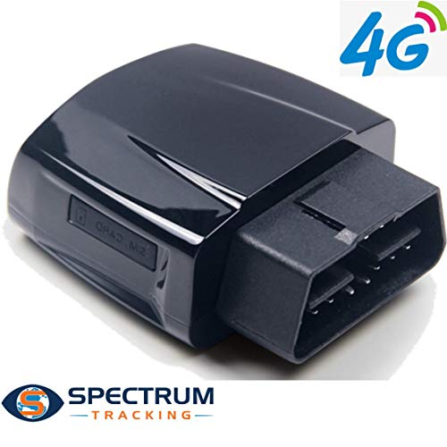 Spectrum Smart: GPS Tracker for Vehicles | Real-time tracking of Location, Speed, Fuel, Driving Behavior | Alerts for Speeding, Harsh Driving, Geofence | For Teenager, Family, and Fleet