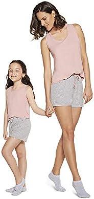 Conjunto de pijama Curto - Regata Lupo Meninas (Infantil)