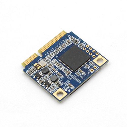 Zheino 128gb Half Size mSATA SSD Mini mSATA (Half Size) SATAIII 128GB SSD Solid State Drive 128GB 26.8mm(L) 30.1mm(W) 3.5mm(H)