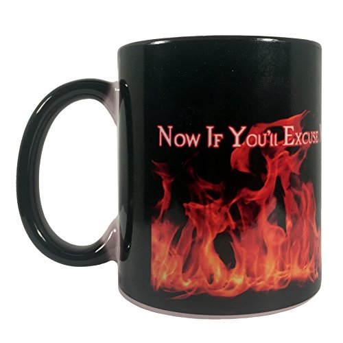 Supernatural Color - Nani?Wear Supernatural Crowley Color Change Mug A Little Hell to Raise