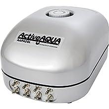 Active Aqua Air Pump, 8 Outlets, 12W, 25 L/min