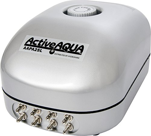 Active Aqua Air Pump, 8 Outlets, 12W, 25 (8 Air)