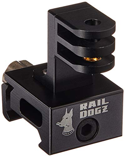 RAIL DOGZ Side Gun Rail Mount for GoPro - All Metal Camera M