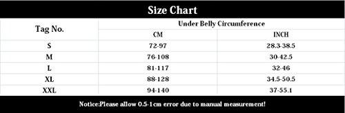 Aivtalk Transpirable Faja de Embarazo Apoyo Lumbar Abdominal para Mujer Embarazada Talla L - Negro Negro (Tipo Transpirable)