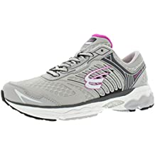 Spira Scorpius II Women's Running Shoes Size US 9 D, Wide Width, Color Grey/Charcoal/Fuchsia