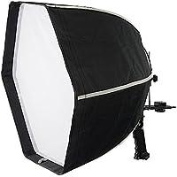 Fotodiox F60 Quick-Collapse Flash Softbox - 60cm (24in) Hexagon for Canon Speedlight & Nikon, Vivitar, Sunpack Flash etc.