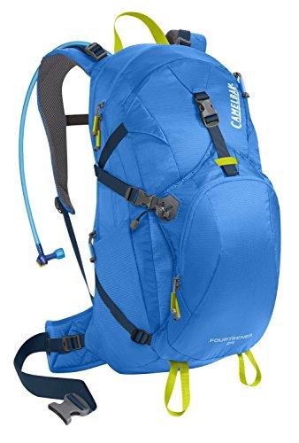 CamelBak 2016 Fourteener 24 Hydration Pack, Tahoe Blue/Lime Punch