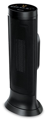 Honeywell Slim Ceramic Tower Heater, Black (Best Portable Electric Heater For Large Room)