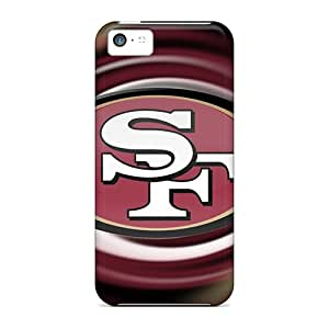 High Impact Dirt/shock Proof Cases Covers For Iphone 5c (san Francisco 49ers)