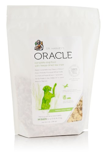 Dr. Harvey's Oracle Freeze Dried Raw Complete Diet for Dogs in Tripe Bag, 3-Pound