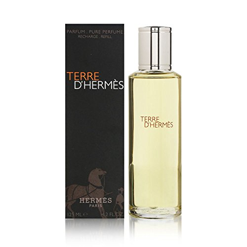 (Terre D'Hermes by Hermes for Men 4.2 oz Pure Perfume Refill)