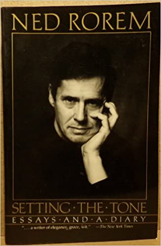 Image result for ned rorem setting the tone