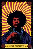 Best The  Posters - Posters: Jimi Hendrix Poster - Psychedelic Review