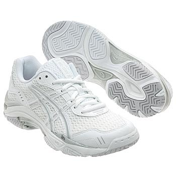 ASICS174; Women's GEL174; 1100V (sz. 09.0, White/Silver) by ASICS