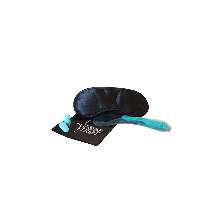 Eye mask with gel for hot/cold treatment Great for relaxation/insomnia or headache. Blocking out any unwanted light