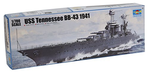 Uss Tennessee Battleship - Trumpeter 1:700 - USS Tennessee BB-43 (1941)