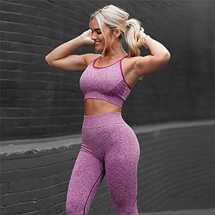 Amazon.com: Conjunto de 2 piezas de ropa de fitness para ...
