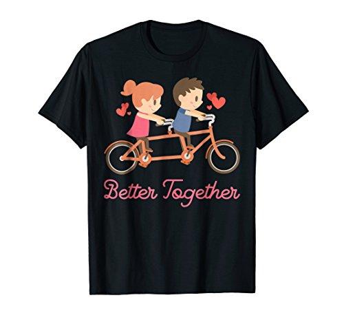 em Bicycle Bike Together TShirt Gift ()