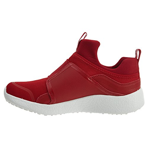 Skechers Womens Low Pull Top Fashion Fabric Burst Red On Sneakers qUxTPq67w