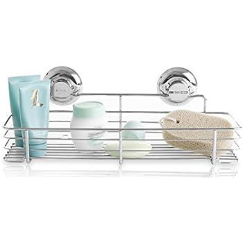 this item bino rust proof stainless steel shower caddy shelf