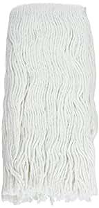 UNISAN Cut-End Wet Mop Head, Rayon, #20 Size, White (2020R)