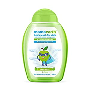 Mamaearth Agent Apple & Oat Protein Refreshing Body Wash