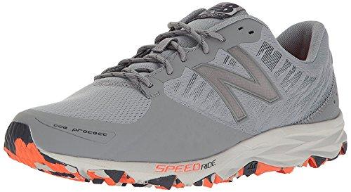 New Balance Mens MT690v2 Responsive Trail Running Shoe, gris plomizo (Gunmetal/Outerspace), 41.5 EU/7.5 UK
